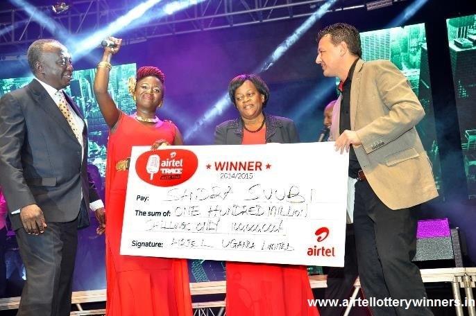 Airtel 35 Lakh Lottery Winner